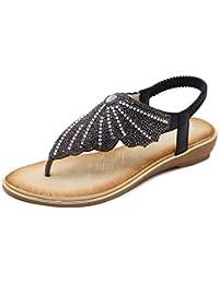 Portabrocas de agua y sandalias de playa plana verano hembra con retro-eólica nacional estudiantes romanos zapatos...
