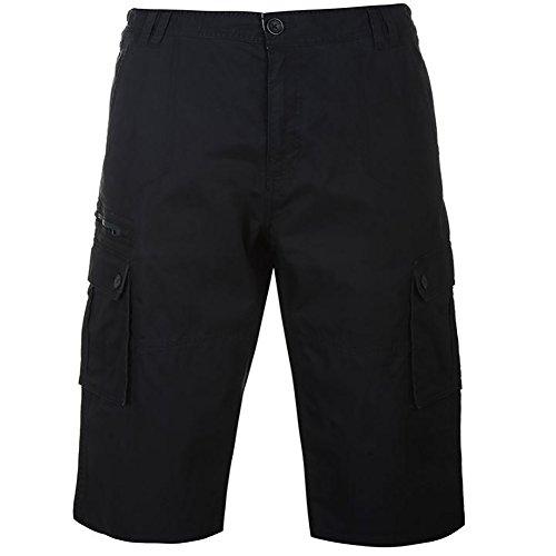 Twill Herren Cargo Pocket Shorts (Pierre Cardin Herren Neue Saison 100% Baumwolle Dreiviertelansicht Twill Cargo Shorts (XL, Navy))