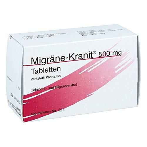 Migräne-Kranit 500mg 100 stk