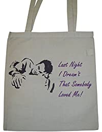 MORRISSEY The Smiths TOTE BAG 'Last Night I Dreamt That Somebody Loved Me'