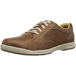 Clarks Stafford Park5 - Zapatos Hombre, Marrón