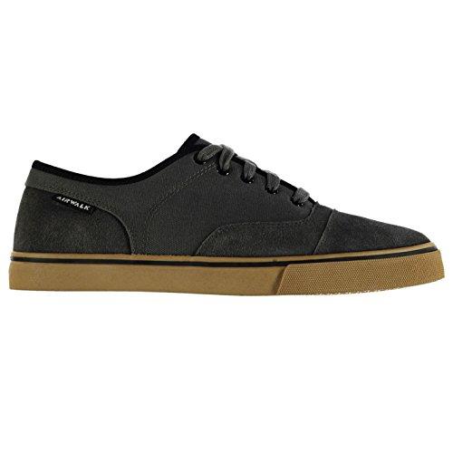 airwalk-tempo-canvas-skate-zapatos-para-hombre-gris-zapatillas-zapatillas-calzado-gris-uk13-eu47