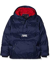 Tommy Hilfiger Padded Pop Over Jacket, Chaqueta para Niños