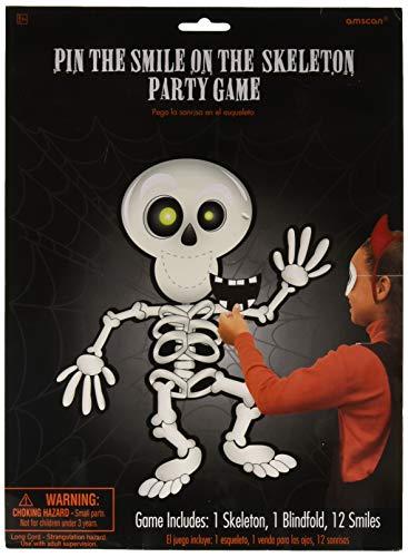 394842 Pin-The-Skeleton-Spiel ()