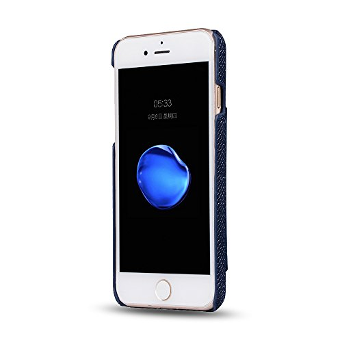 iPhone 8 Plus Coque,Valenth [Anti-Drop] Protection complète Etui Coque avec slot pour carte pour iPhone 7 Plus / 8 Plus Blue