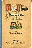 Kleines Wilhelm Busch Album, Sammlung lustiger Bildergeschichten mit etwa 450 Bildern und farbigem Selbstportrait von Wilhelm Busch -