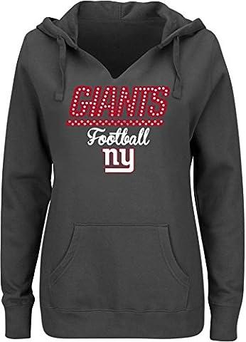 NFL Washington Redskins Damen perfekt Playtime Sweatshirt, damen, Stadium Blue (Tampa Bay Buccaneers Tampa Stadium)