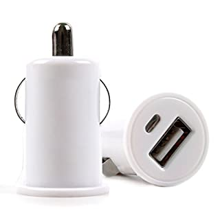 DURAGADGET 1-Amp In-Car Cigarette Charger With USB Port - Compatible with the Archeer A320 Bambu