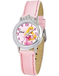 "Disney Kids' 58230-3399 Sleeping Beauty ""Crown"" Watch"