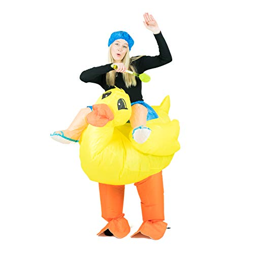 Kostüm Für Erwachsene Tier Farm - Bodysocks Inflatable Duck Costume (Adult)