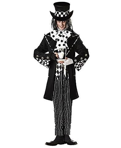 Damen-/Herren-Kostüm VERRÜCKTER HUTMACHER , Größe:M