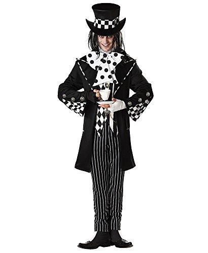 Damen-/Herren-Kostüm VERRÜCKTER HUTMACHER , (Kostüm Verrückter Kostüm Hutmacher)