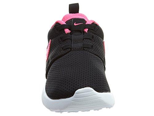 Nike  Roshe One (Tdv), Sneakers Basses mixte bébé Noir (Noir / Rose-Blanc Explosion)