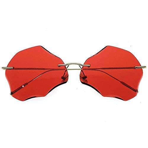 fuqiuwei Sonnenbrillen Schlichte Und Modische Damenbrille Mit Personalisierter Brille