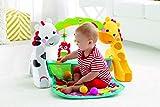 Fisher-Price CCB70 3-in-1 Erlebnisdecke Krabbeldecke mit Lichtern und Musik inkl. Spielzeugen Babyerstausstattung, ab 0 Monaten Vergleich