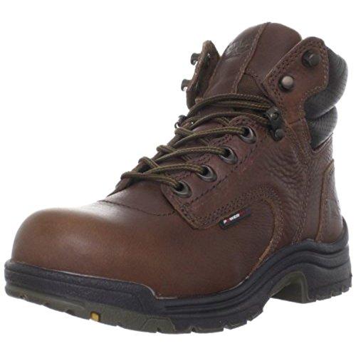 Timberland PRO Women's Titan 6 Inch WaterProof Boot,Brown,10 W US
