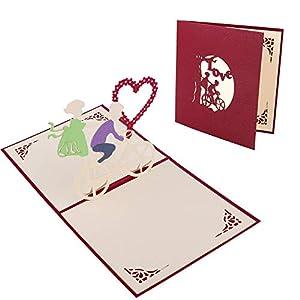 Etmury Tarjeta de San Valentín