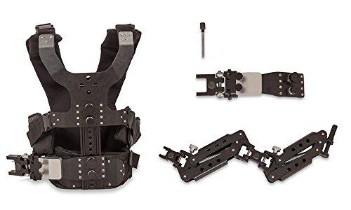 CAMGEAR Steadycam Stabilisator Dual Griff Arm Weste Kamera Stabilisator für DSLR DV Kameras (Tragkraft bis zu 7kg/15lbs)