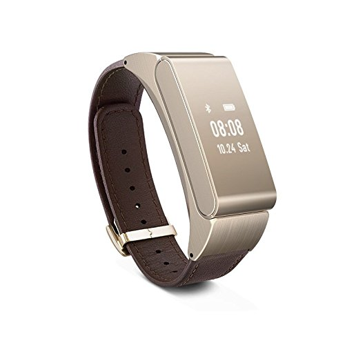 VOSMEP M8 Bluetooth Intelligente Bracciale + Bluetooth auricolare intelligente Pedometro chiamate al supporto SMS Alert Sport Bracciale antifurto Sistema IOS Android Iphone 4 4s 5 5s 6 6s 6plus Samsung Xiaomi Huawei HTC Smartphone Bluetooth Phone Bracciale Marrone SM042