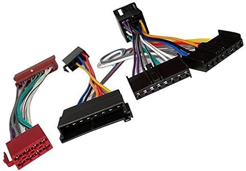 AERZETIX: Câble Faisceau Autoradio pour PARROT KML Kit Mains Libres pour auto voiture