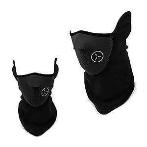 BAO CORE Unisex Staubmaske, Winddicht Atemschutzmaske mit Filter staubdicht geruchshemmend PM2, 5 Zersetzung Halbe Gesicht im Freien Sport Radfahren Maske