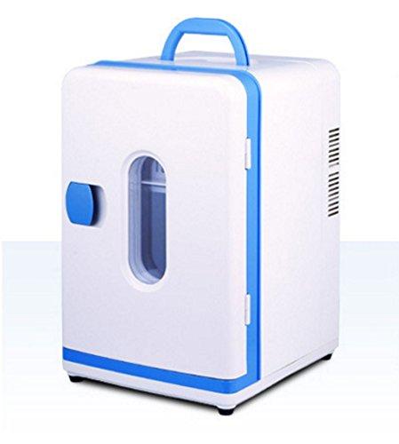 T-Day Car Kühlschränke 12L Auto Kühlschrank, tragbare Mini-Kühlschrank, 12V, 24V AC und DC Hotspot-System, Thermostat, Medikamentenlager, Kosmetik-Kühlschrank