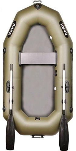 BARK B-220 B-220C 2,2 m 220 cm Barca Hinchable Bote para 1 persona Bote inflable Bote Neumático Barco de Pesca con panel para el montaje del motor eléctrico Embarcacion Versión profesional