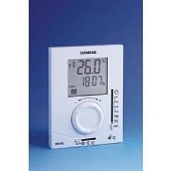 Siemens Rdj10rf Rf Programmable Room Thermostat Cw Wireless Receiver