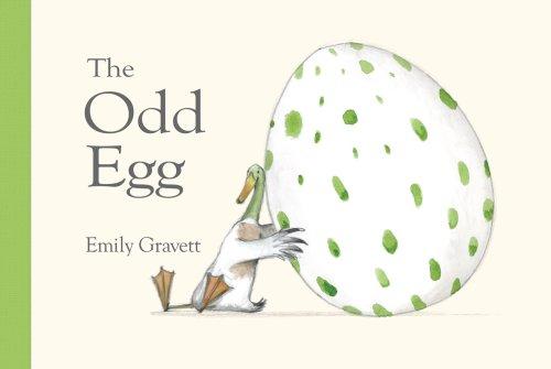 The Odd Egg por Emily Gravett