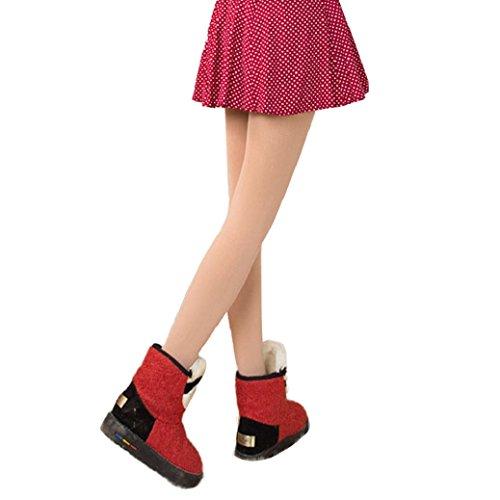Fulltime® Les Femmes Hiver épaisse Toison Chaude Doublée Thermiques Leggings Pantalons extensibles Kaki