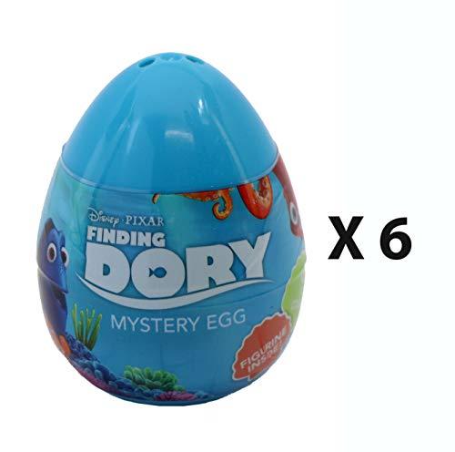 Disney Pixar Buscando a Dory Mini Figura Huevos misteriosos – Bolsa de Recuerdos de Fiesta Pack de 6