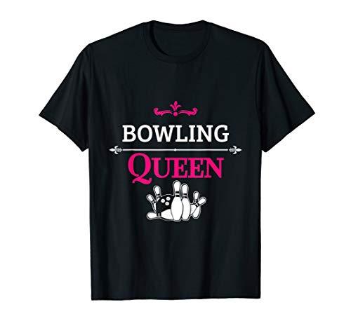 Bowling Queen Women Bowler T-Shirt -