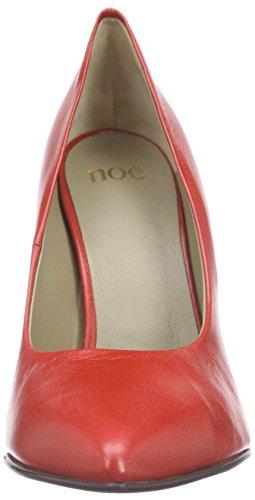 Noe Antwerp Nuvida Pump, Chaussures à talons - Avant du pieds couvert femme Rouge - Rot (PAPAVERO)