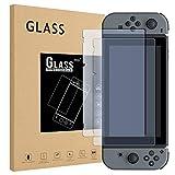 Schutzfolie für Nintendo Switch, Glass Displayschutzfolie Glas Folie Panzerfolie Screen Protector, 2 Stück