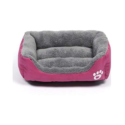 YQCSLS Rechteck Hundebett, Super Soft Pet Sofa Katzenbett, Rutschfeste Unterseite Pet Bed , Erwärmung und atmungsaktives Pet Bed Premium Bettwäsche