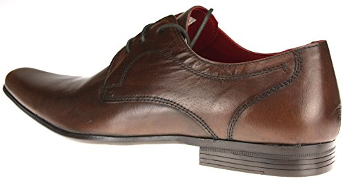 Red Tape, Scarpe stringate uomo Marrone (marrone)