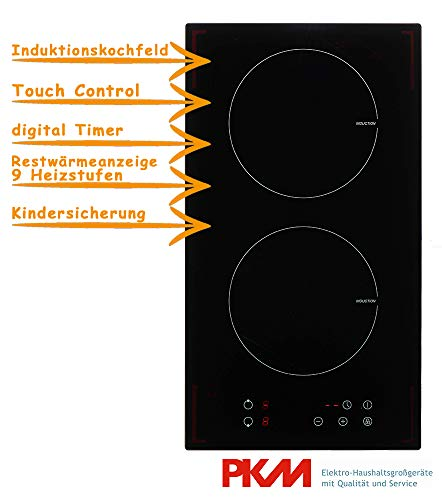 PKM IF2 Eingebaut Induction hob Schwarz
