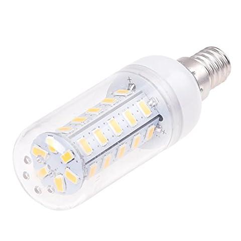 SODIAL(R)1 x E14 3.5W 36 LED 5630 SMD Lamp de mais/l'eclairage de lumiere blanche et chaude d'AC 220V-240V