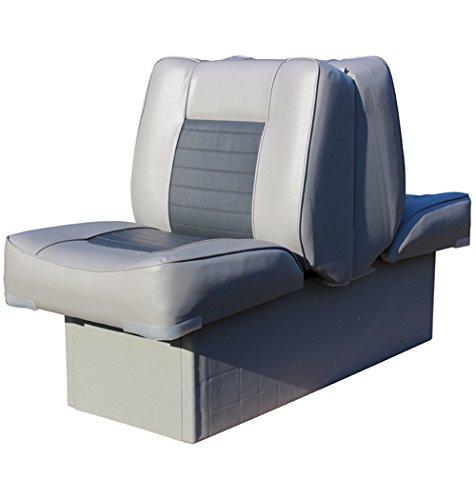 Back-to-Back-Sitz mit Kunststoffrahmen, grau-anthrazit