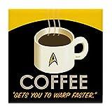 Best CafePress Café Livres - CafePress–Star Trek–Opérations–pour carrelage Dessous de Verre, dessous de Review