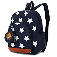 DafenQ Kids Backpack - Cute Bear Toddler Schoolbag Baby Lunch Boxes Carry Bag or Preschool Kindergarten Book Bags