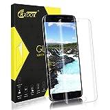 CRXOOX Cristal Templado para Samsung Galaxy S7 Edge, [Cobertura Total 3D Curve] Protector de Pantalla Vidrio Templado , [Anti-rasguños] [9H Dureza] Fácil Instalación y Sin Burbuja