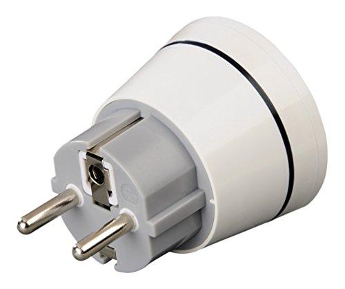 Produktbild Hama Reisestecker USA (Typ a / b) für Geräte aus USA,  Kanada,  Japan,  Brasilien zur Nutzung an deutschen Schutzkontaktsteckdosen (z.B. Spanien,  Frankreich,  Türkei u.v.m.)