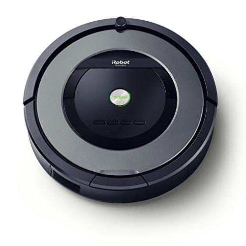 iRobot Roomba 865 Robot Aspirapolvere, sistema di pulizia ad alte prestazioni con Dirt Detect e spazzole