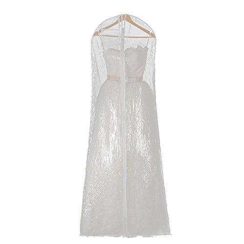 5 PCS Hochzeitskleid Transparente Abdeckung Speicher Display Taschen Staubdicht Wasserdichtes...