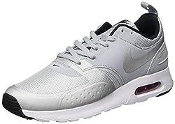 Nike Herren Air Max Vision Premium Sneakers, Grau (Wolf Grey/Metallic Silver/Varsity Red/Black), 41 EU