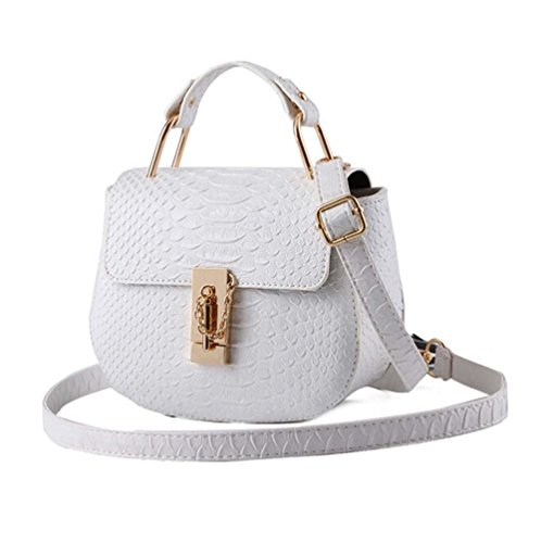 FOLLOWUS, Borsa a spalla donna Multicolore bianco