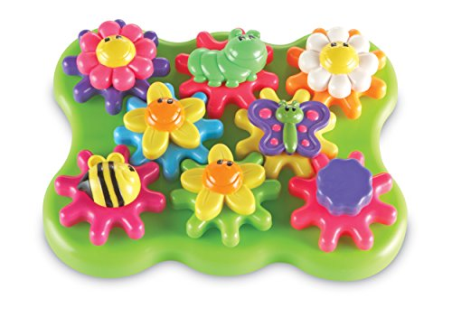 Learning Resources Build & Spin Flower Garden Building Set