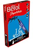 Berol Dry Wipe Whiteboard Marker Chisel Nib 2mm/5mm - Assorted Colours (Box of 8)