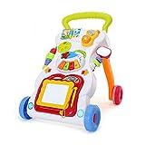 Baby Erste Schritte Baby Walker Mit Zeichenbrett, Klavier Und Kleines Telefon (Geeignet Für 0-6 Jahre)